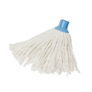 Image of Elephant Blue & white Mop head (W)120mm