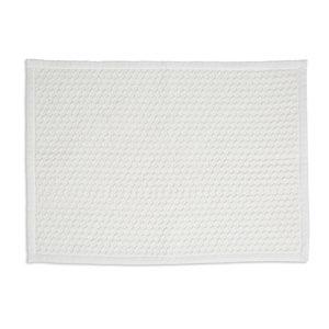 Marinette Saint-Tropez Version Ivory Cotton Bath mat (L)500mm (W)700mm