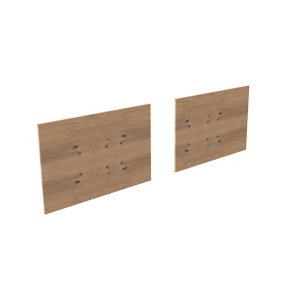 Form Oppen White oak effect Reversible Back panel (L)999mm (W)734mm