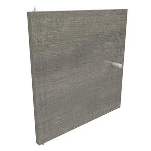 Form Konnect Grey oak effect Door (H)322mm (W)322mm