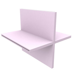 Konnect Pink Divider (W)328mm (D)314mm
