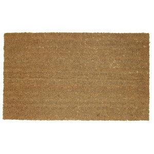 Diall Natural Coir Door mat (L)1.1m (W)0.8m