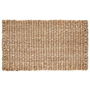 Colours Maxie Natural Jute Door mat (L)0.75m (W)0.45m