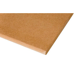 Image of Natural MDF Rolled edge Window board (L)2.1m (W)494mm (T)18mm