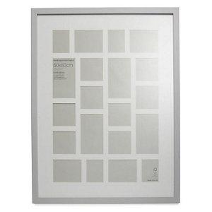 Image of Grey Multi Picture frame (H)84cm x (W)64cm