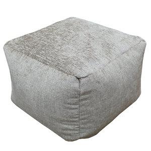 Primeur Elite Plain Bean bag cube  Mink