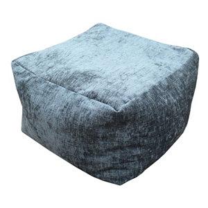 Primeur Elite Plain Bean bag cube  Charcoal