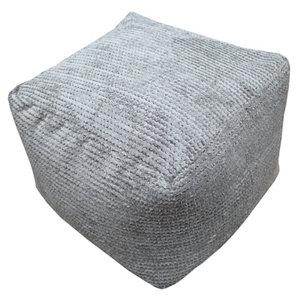 Primeur Bubble Plain Bean bag cube  Mink