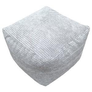 Primeur Bubble Plain Bean bag cube  Stone