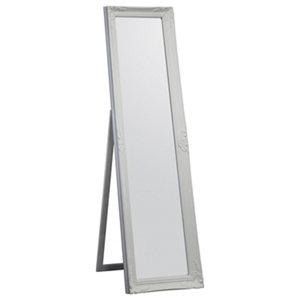 Colours Tibertus White Rectangular Framed Mirror (H)1640mm (W)470mm