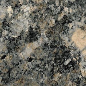 Image of 28mm Carnival granite Brown Marble effect Round edge Laminate Worktop (L)2m (D)365mm