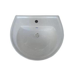 Plumbsure Bodmin Full pedestal Basin