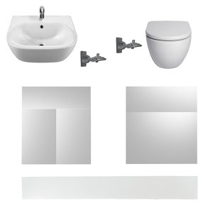 Cooke & Lewis Santini Bathroom kit