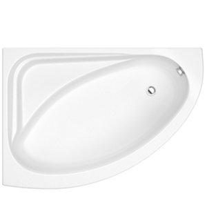Image of Cooke & Lewis Strand Left-handed Corner Bath & panel set (L)1495mm (W)1060mm