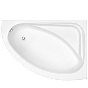 Image of Cooke & Lewis Strand Right-handed Corner Bath & panel set (L)1495mm (W)1060mm