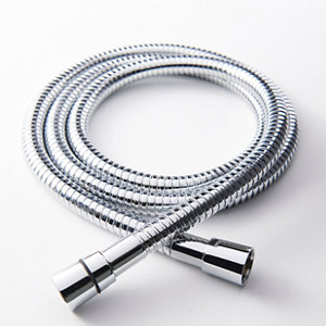 Image of GoodHome Brass Shower hose (L)1.75m