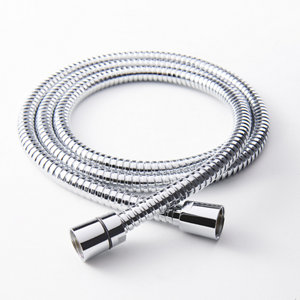Image of GoodHome Stainless steel Shower hose (L)1.25m