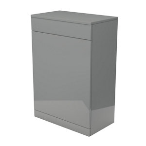 Image of Ardenno Gloss Grey Toilet unit