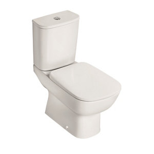 Image of Ideal Standard Studio Echo Contemporary Close-coupled Boxed rim Toilet set with Soft close seat