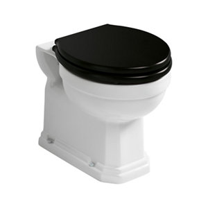 Ideal Standard Waverley Traditional Back to wall Boxed rim Toilet & cistern with Standard close seat