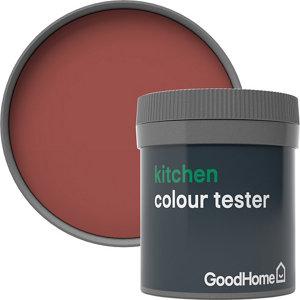 GoodHome Kitchen Fulham Matt Emulsion paint  50ml Tester pot