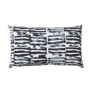 Image of Denia Broken line Black & white Cushion