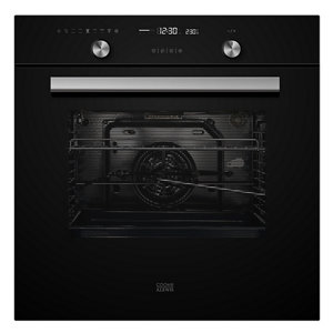 Cooke & Lewis CLMFBLa Black Built-in Electric Single Multifunction Oven