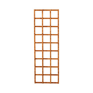 Image of Forest Garden Traditional Square Dip treated Trellis panel (W)0.6m (H)1.83m