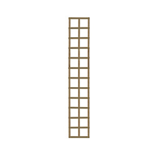 Image of Forest Garden Square Pressure treated Trellis panel (W)0.32m (H)1.83m