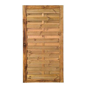 Image of Blooma Arve Pine Gate (H)1.8m (W)0.9m