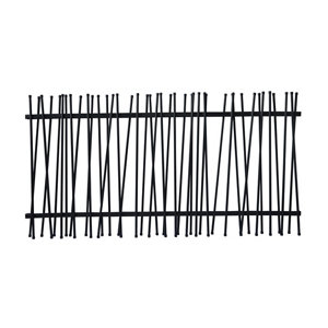 Image of GoodHome Tube fencing (L)1.8m (H)1.8m (T)70mm