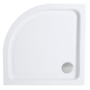 Image of Cooke & Lewis Lagan Quadrant Shower tray (L)800mm (W)800mm (H)150mm