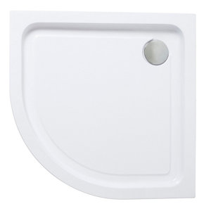 Image of Cooke & Lewis Lagan Quadrant Shower tray (L)900mm (W)900mm (H)900mm