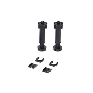 Image of Caraway 195mm Black Cabinet legs Pack of 2