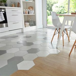 Image of Arrezo Beige Matt Wood effect Porcelain Floor Tile Sample
