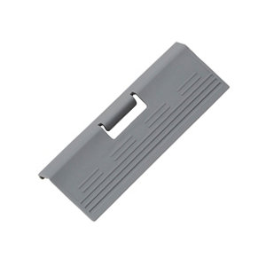 Image of GoodHome Soto Anthracite Internal drawer front pull