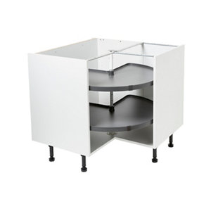 Image of Pebre Matt Anthracite Not soft close Universal Pull out storage (H)639mm (W)830mm