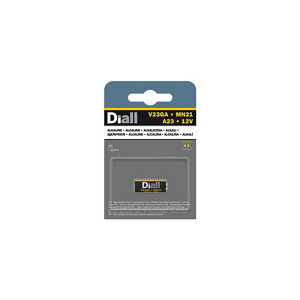 Image of Diall Alkaline batteries Non-rechargeable V23GA Battery Pack of 1