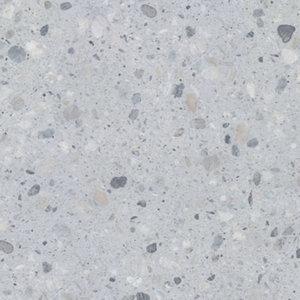 Image of GoodHome Algiata Matt Grey Stone effect Laminate Upstand (L)3000mm