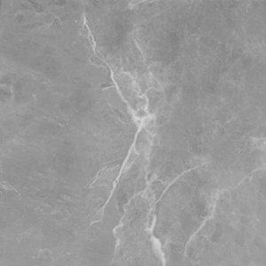 Image of GoodHome Algiata Matt Grey Marble effect Laminate Upstand (L)3000mm