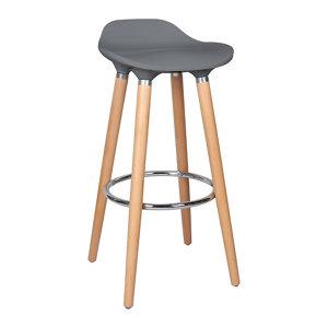 Image of Cooke & Lewis Shira Anthracite Bar stool