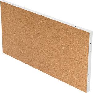 Image of GoodHome Alara Cork & white Modular Room divider panel (H)0.5m (W)1m
