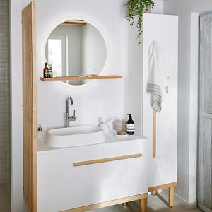 Image of GoodHome Ceara Oblong Counter top Basin