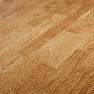 Image of GoodHome Bishorn Natural Oak Real wood top layer flooring 2.03m² Pack