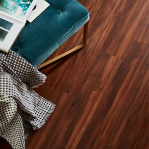 Image of GoodHome Chaiya Bamboo Real wood top layer flooring 1.67m² Pack