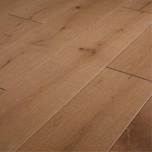 Image of GoodHome Fryatt Natural Oak Real wood top layer flooring 1.37m² Pack