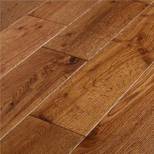 GoodHome Skara Natural Oak Solid wood flooring  1.48m² Pack