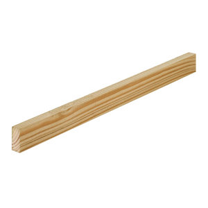 Treated Rough sawn Whitewood Timber (L)1.8m (W)38mm (T)22mm