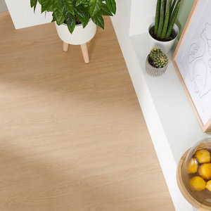 Image of GoodHome Bachata Natural Wood effect Luxury vinyl click flooring 2.56m² Pack