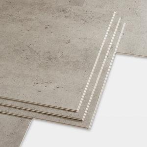 Image of GoodHome Jazy Beige Tile effect Luxury vinyl click flooring 2.23m² Pack